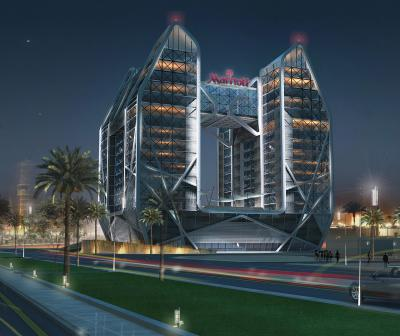 Qitaf Towers Mixed-use Complex