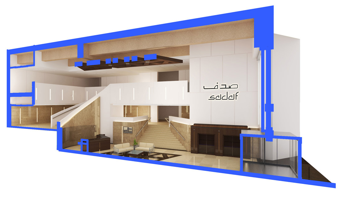 SADAF INTERIOR RENOVATION ADMINISTRATION BLG.