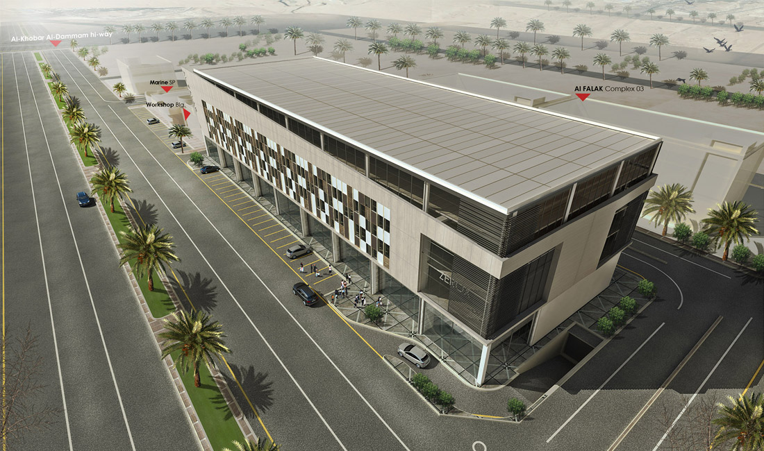 AL FALAK offices and showrooms